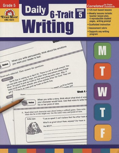 Daily 6-Trait Writing, Grade 5 PDF