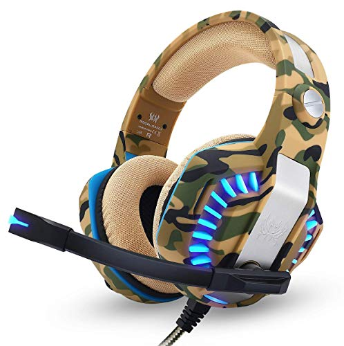 PS4 Headset Gaming Headset for PC Xbox One Headphones with Mic Headset for Gaming Computer