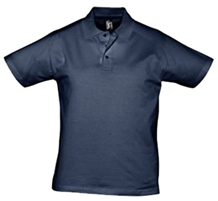 Sol del Prescott para Hombre Jersey Polo para Hombre Francés Azul ...