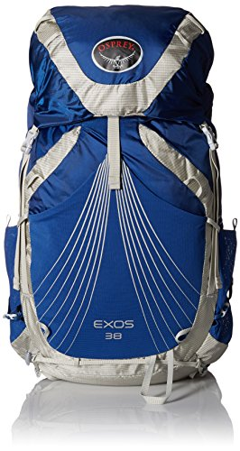 Osprey Packs Exos 38 Backpack (2017 Model), Pacific Blue, Small