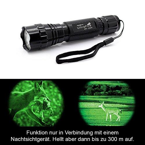 INFRAROT UltraFire Wf-501B Led Taschenlampe 800 Lumen