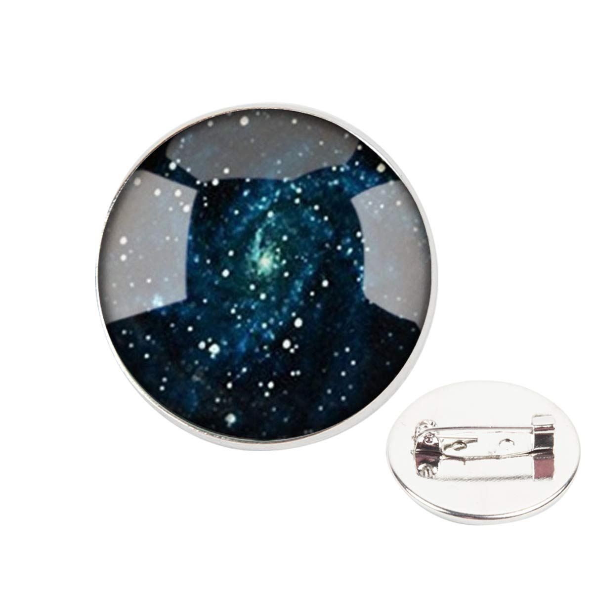 Pinback Buttons Badges Pins Star Galactic System Lapel Pin Brooch Clip Trendy Accessory Jacket T-Shirt Bag Hat Shoe