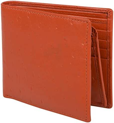 Access Denied Mens RFID Blocking Wallet + Removable Secure Mini Wallet Leather
