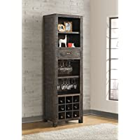 Vilo Home VH1607 1 Drawer Glenwood Pines Wine Pier Cabinet