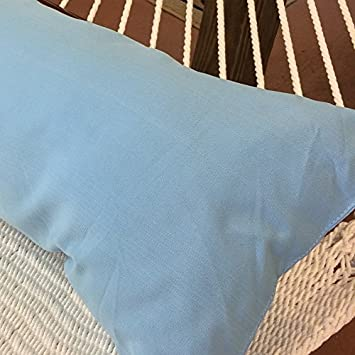 Caribbean Hammocks Double Hammock Pillow, Light Blue