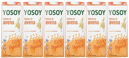 Yosoy Bebida Vegetal de Avena - Paquete de 6 x 1000 ml: Amazon.es: Amazon Pantry