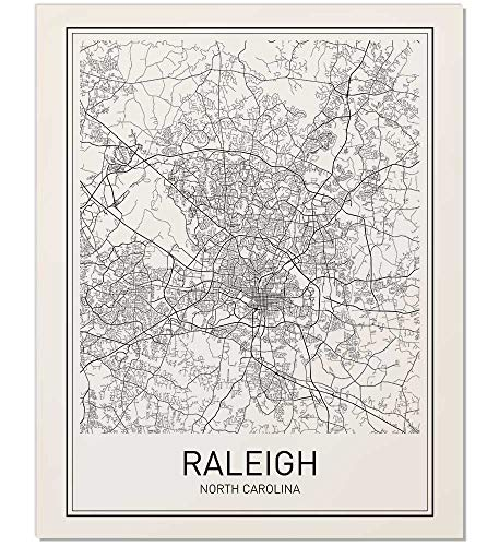 (Raleigh Poster, Map of Raleigh, Raleigh Map, City Map Posters, Modern Map Art, City Prints, Raleigh Art, Minimal Print, North Carolina Poster, City Poster, City Map Wall Art, minimalist posters,)