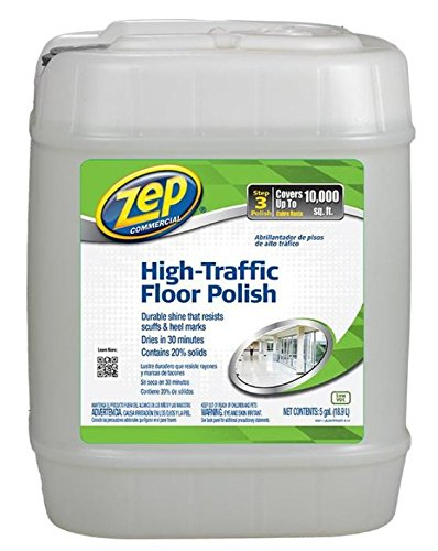 Zep Commercial 1044999 High Traffic Floor Polish (5 Gallon Pail)