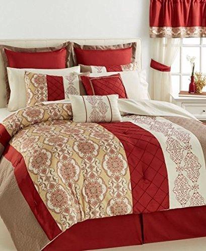 Bryant 24 Piece Bedroom Ensemble Queen Comforter ()