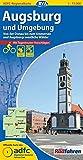 ADFC-Regionalkarte Augsburg und Umgebung mit Tagestouren-Vorschlägen, 1:75.000, reiß- und wetterfest, GPS-Tracks Download: Von der Donau bis zum ... westliche Wälder (ADFC-Regionalkarte 1:75000)