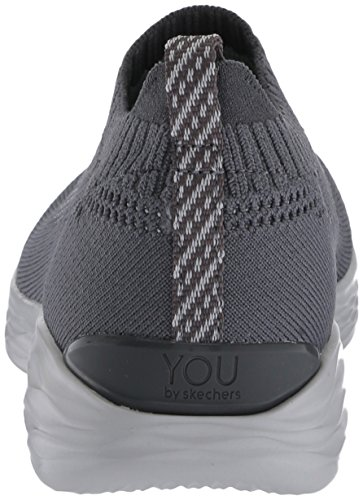 Enfiler Skechers pure Anthracite You Baskets Femme ZtSwOtqp