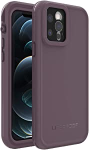 LifeProof FRE Series Waterproof Case for iPhone 12 Pro - Ocean Violet (Berry Conserve/Dusty Lavender)