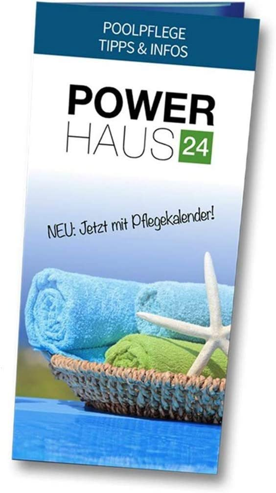 POWERHAUS24 Skimmer Zubeh/šr Edelstahlschellen Set 4-teilig