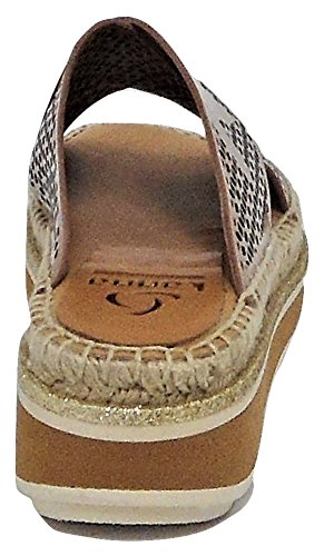 Kanna Beige Sandals Fashion Women's Beige 5 6 TtqTrwBxR