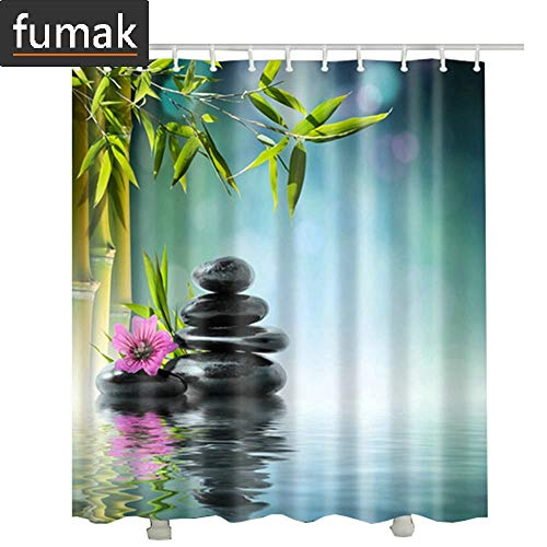 (Shower Curtain - Drop Shipping Door Bamboo Bathroom Curtain Waterproof Fabric Polyester 3D Long Bathroom Shower Curtain Kids (5,)
