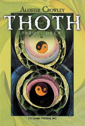 Crowley Thoth Tarot Deck (large) by US Games (Image #1)
