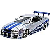 Jada Toys - 97158 - Nissan - Skyline Gtr R34 - Fast And Furious - Échelle 1/24