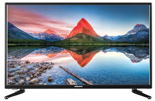 MEDION LIFE P15237 (31,5 Zoll HD) LED-Backlight-TV, HD, Triple Tuner, DVB-T2 HD, CI+, HDMI, USB) integrierter Mediaplayer, schwarz