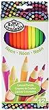 Best Royal-langnickel-pencils - ROYAL BRUSH RTN-158 Neon Colored Pencils-12/Pkg Review