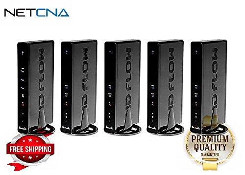PeerAir HDS300-4 Pro Wireless AV Multi-Display System (1 x Transmitter, 4 x - By NETCNA by NETCNA