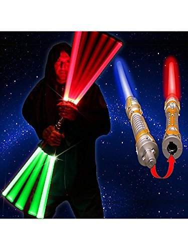 Loftus Double Sided Ultrasaber 2-in-1 Led Lightsaber Sword with 7 LED Modes 54