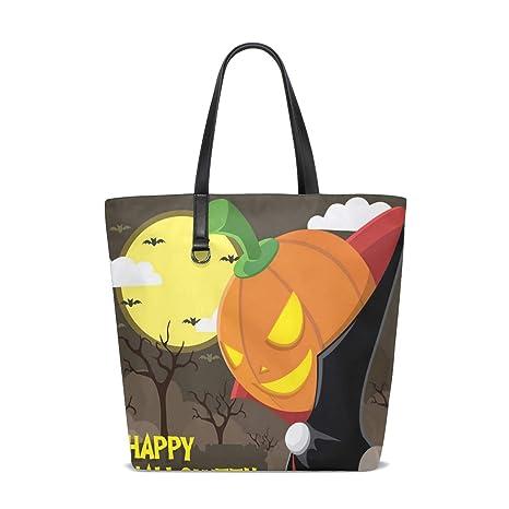 Amazon.com | Halloween Tote Bag Purse Handbag Womens Gym ...