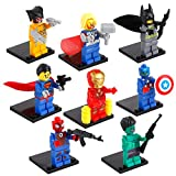 Super Heroes Star Wars White Clone Soldiers Troops Minifigures (8 Piece/Lot)
