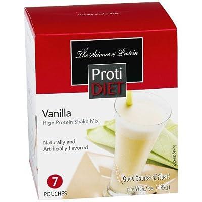 Protidiet Shake - Vanilla (7/box) by Pro-Amino