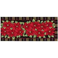 Nourison Rugs, Holiday Poinsettia 22 x 54 Accent Rug Runner