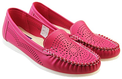 Zapatos fucsia Coolers para mujer