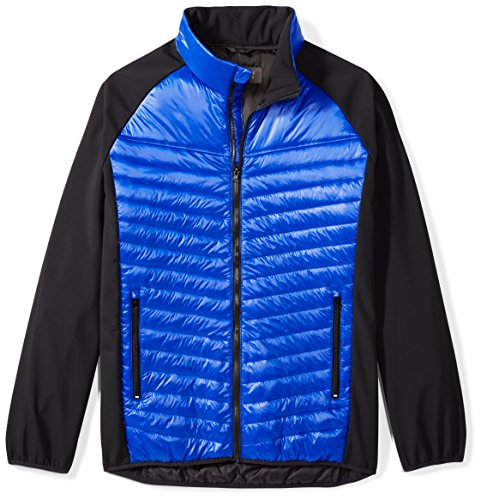 The-Plus-Project-Mens-Padded-Jacket-With-Contrast-Sleeves