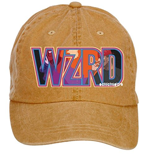 Kids 6 Panel Cap (WHUO Unisex 6 Panel Baseball Cap - Kid Cudi WZRD Hats)