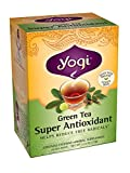 Yogi Teas Super Antioxidant Green Tea, 16 Count (Pack of 6)