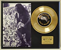 PEARL JAM Limited Edition Gold 45 Record Display. Only 500 made. Limited quanities. FREE US SHIPPING