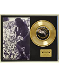 PEARL JAM Limited Edition 45 Record Display. Only 500 made. Limited quantities. FREE US SHIPPING