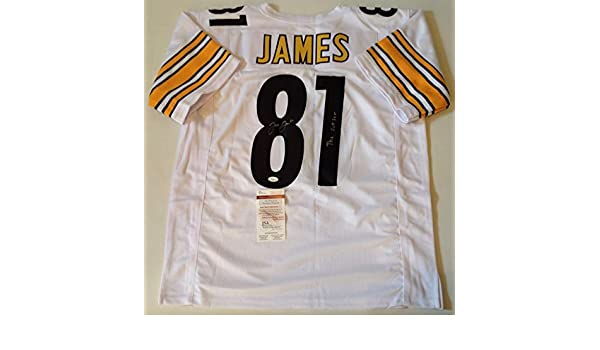 Pittsburgh Steelers Jesse James Signed Custom White Jersey outlaw Coa!!!! -  JSA Certified - Autographed NFL Jerseys at Amazon s Sports Collectibles  Store 26db151eb