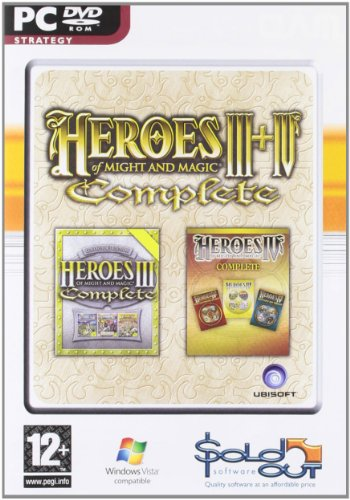 Heroes of Might and Magic III + IV Complete (UK) (Heroes Of Might And Magic 3 Complete)