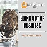 Unleashed Life Elevated Feeder - Raised Dog & Cat