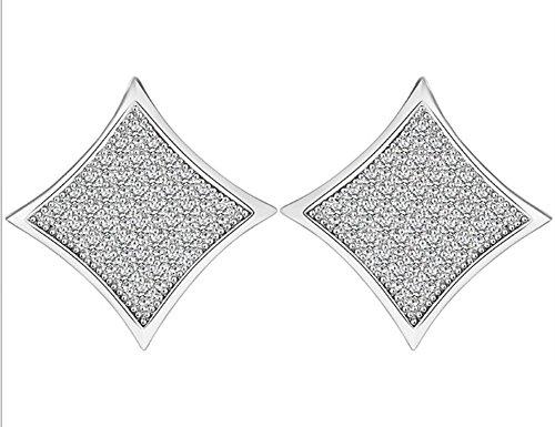 Kite Shaped Hip Hop Stud Earring for Men, mens earrings, Stud earrings for women