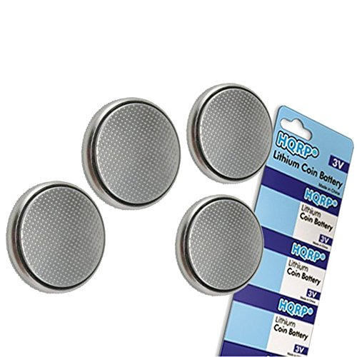 Best Tusa Dive Computers - HQRP 4-Pack Coin Lithium Battery for