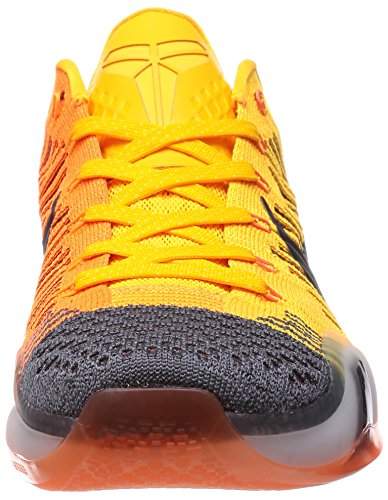 sneakers Grey Total ELITE basketball shoes KOBE Orange LOW nike mens Tumbled 747212 trainers Black X Orange Laser 48wvqZ