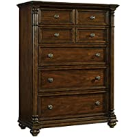 Hooker Leesburg 5 Drawer Chest in Mahogany