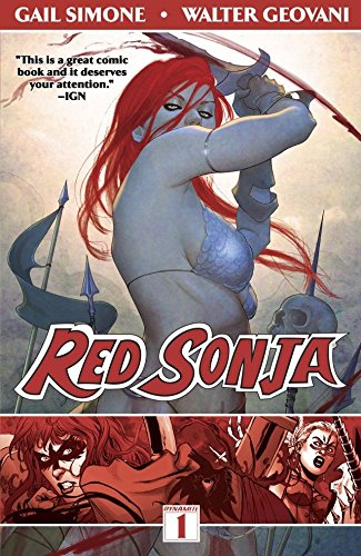 Red Sonja Vol. 1: Queen of Plagues]()