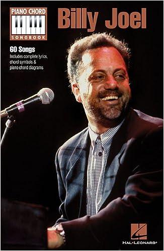 Billy Joel Piano Chord Songbook Billy Joel 9781480305205 Amazon