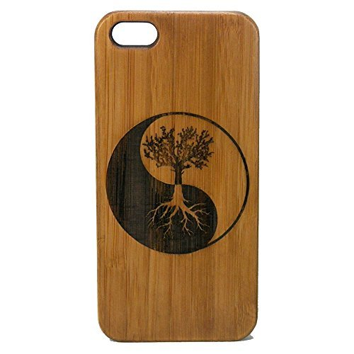 Wood Case for iPhone 7 Plus (Dark Brown) - 6