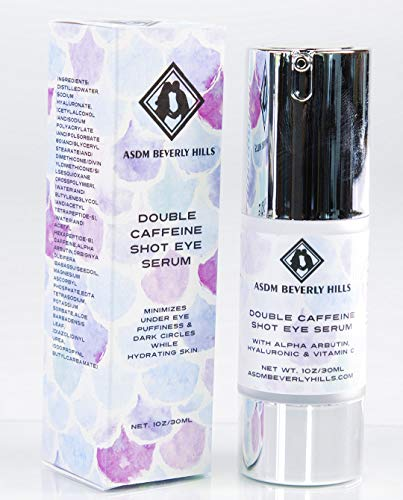 ASDM Beverly Hills Double Caffeine Shot Eye Serum, 1 Ounce ()