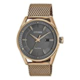 Men's Drive from Citizen Eco-Drive CTO Rose Gold-Tone Stainless Steel Watch BM6983-51H