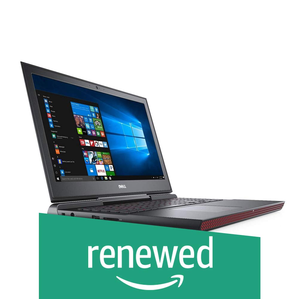 Renewed  DELL Inspiron 15 Gaming 7567 15.6 inch Laptop  7th Gen i7 7700HQ/8 GB/1TB/Windows 10/4 GB Graphics , Black