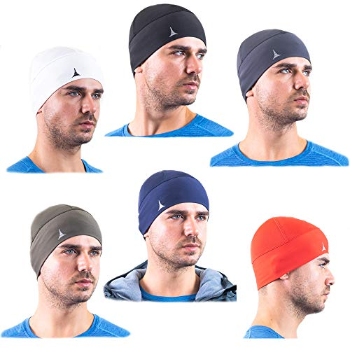 French Fitness Revolution Helmet Liner Skull Cap Beanie. Ultimate Thermal Retention and Performance Moisture Wicking. Fits Under Helmets ()