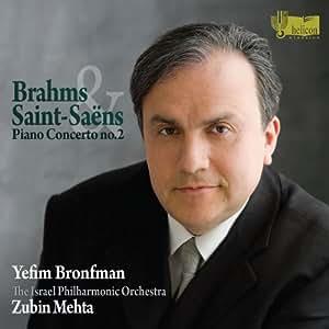 Brahms/Saint-Saens: Piano Concerto No.2
